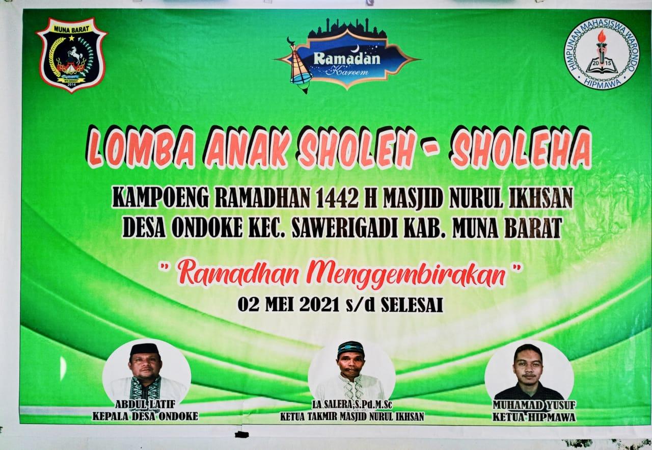 Kolaborasi Hipmawa dan Remaja Masjid Nurul Ikshan Dalam Kegiatan di Bulan Suci Ramadhan 1442 H/2021 M