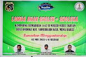 Hipmawa Bersama Remaja Masjid Nurul Iksan Menggelar Lomba Anak Sholeh-Sholeha di Desa Ondoke