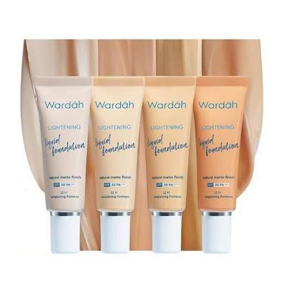 Wardah Lightening Liquid Foundation untuk kulit sawo matang
