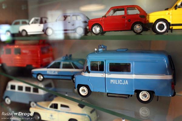 Miniaturowa kolekcja w Muzeum VW w Pępowie