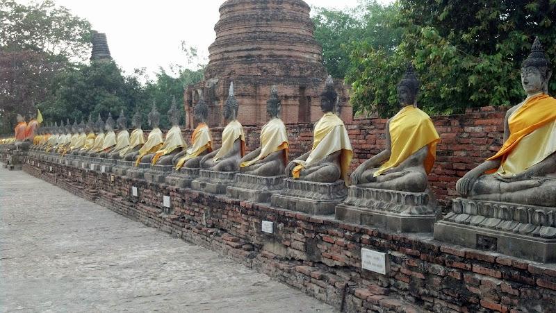 Line of Buddhas, Thailand