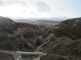 A canyon coming down the South Face of Haleakala between Kaupo and Ulupalakua