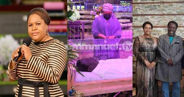 """""""I don't want a concubine, I want Only you"""" - TB Joshua's wife recounts how they fell in love on first sight"""