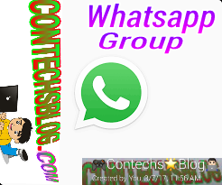 Contechsblog whatsapp group