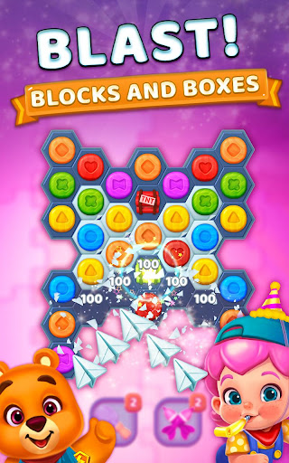 Toy Party: Pop and Blast Blocks in a Match 3 Story - screenshot