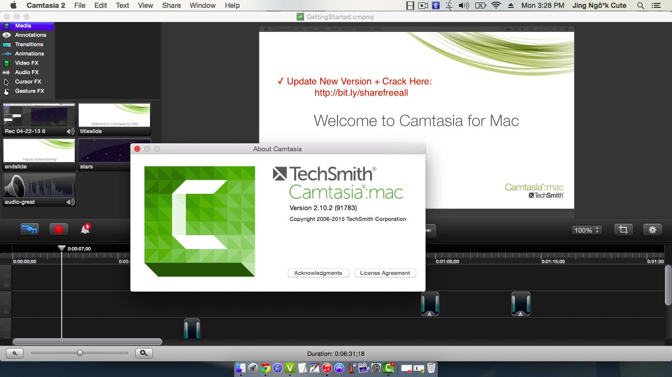 activation key camtasia 2.3 mac