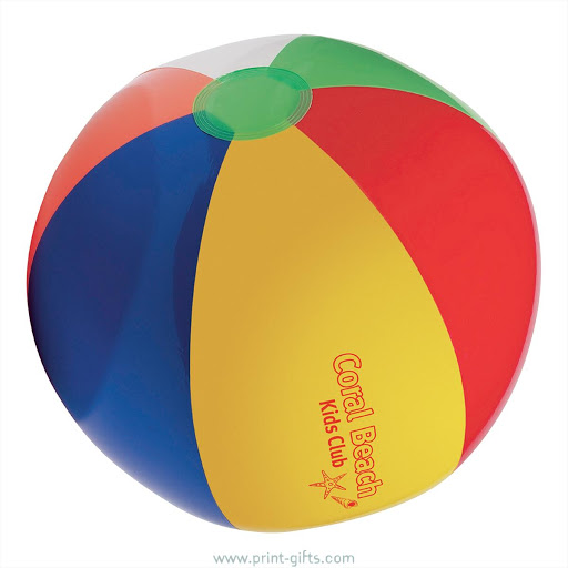 Multicoloured Beach Ball for Branding