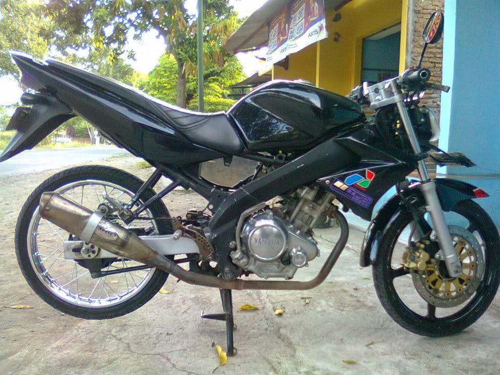 Modif Yamaha Byson Ban Kecil