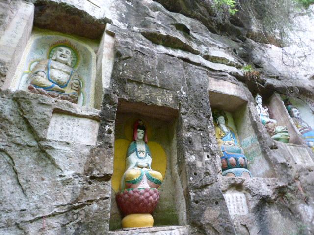 CHINE.SICHUAN.PING LE à 2 heures de Chengdu. Ravissant .Vallée des bambous - P1070618.JPG