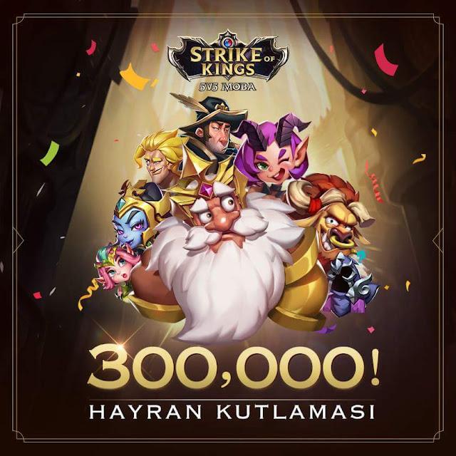 Strike of Kings Türkiye Facebook Sayfası 300 Bin Takipciye Ulaştı
