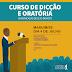 Curso de dicção e oratória será oferecido gratuitamente em Maruim