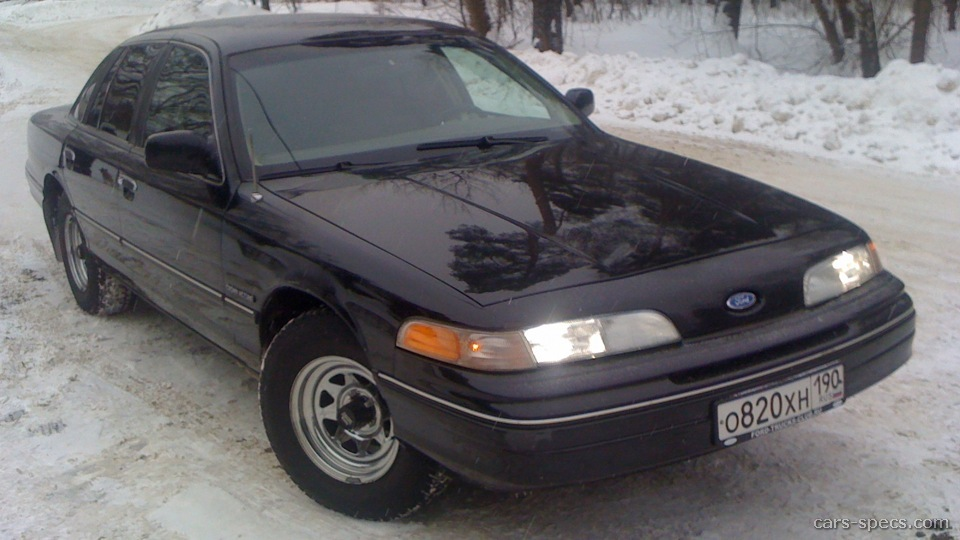 1997 Ford Crown Victoria Sedan Specifications Pictures Prices