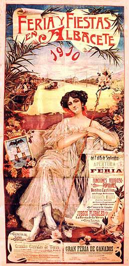 Cartel Feria Albacete 1910