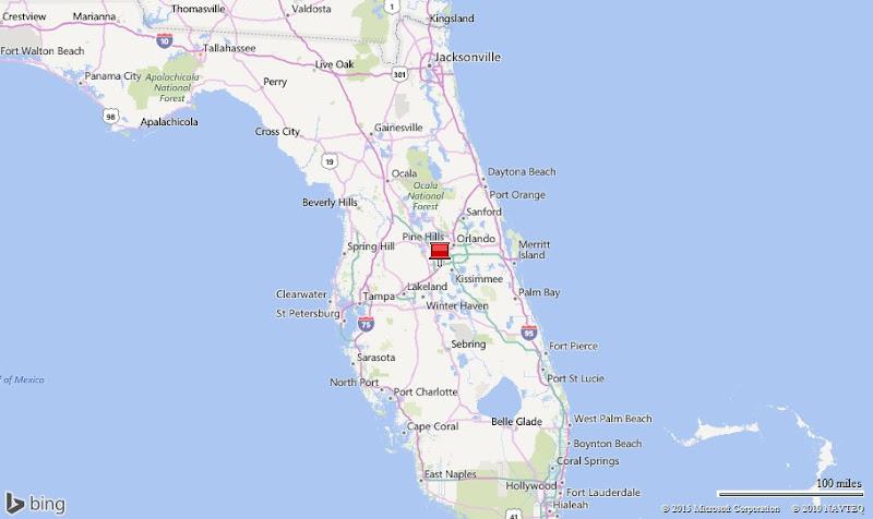 Disney World On Florida Map Autobedrijfmaatje