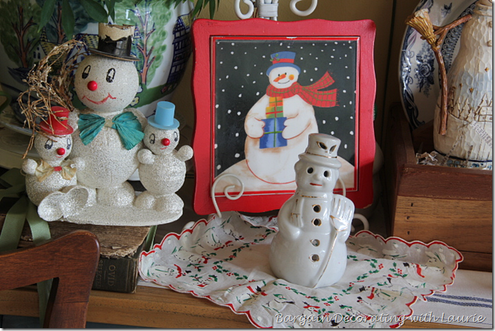 Vintage and Not-so-Vintage Snow People