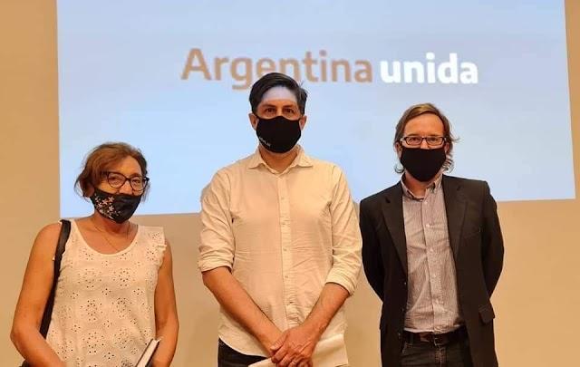La Diputada Alcira Figueroa se reunió con el Ministro Nicolás Trotta