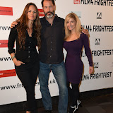 OIC - ENTSIMAGES.COM - Heather Rae, Russell Friedenberg and Dori Sperko at the Film4 Frightfest on Friday of   Wind Walkers UK Film Premiere at the Vue West End in London on the 28th August 2015. Photo Mobis Photos/OIC 0203 174 1069