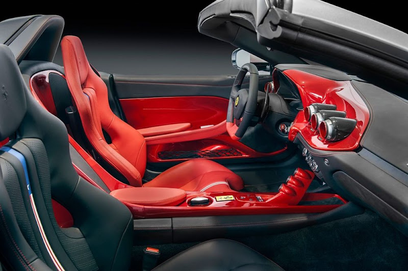 Ferrari F60 America awesome interior Design