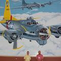 "Dennis Lind, Gary Eubanks, under ""Dotties Days Pay"" Bomber"
