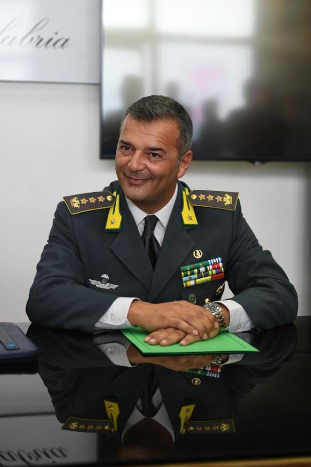 Comandante Provinciale GdF Reggio Calabria. Saluto