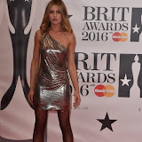 OIC - ENTSIMAGES.COM - Abbey Clancy at the  The BRIT Awards 2016 (BRITs) in London 24th February 2016.  Raymond Weil's  Official Watch and  Timing Partner for the BRIT Awards. Photo Mobis Photos/OIC 0203 174 1069