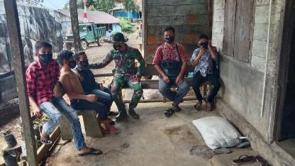 Warga Tak Pakai Masker Jadi Sasaran Sosialisasi Prokes