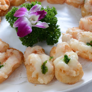 Baked Shrimp Toast
