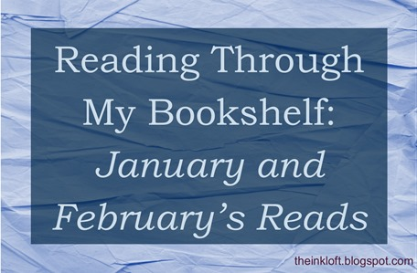 Reading Through My Bookshelf Jan and Feb