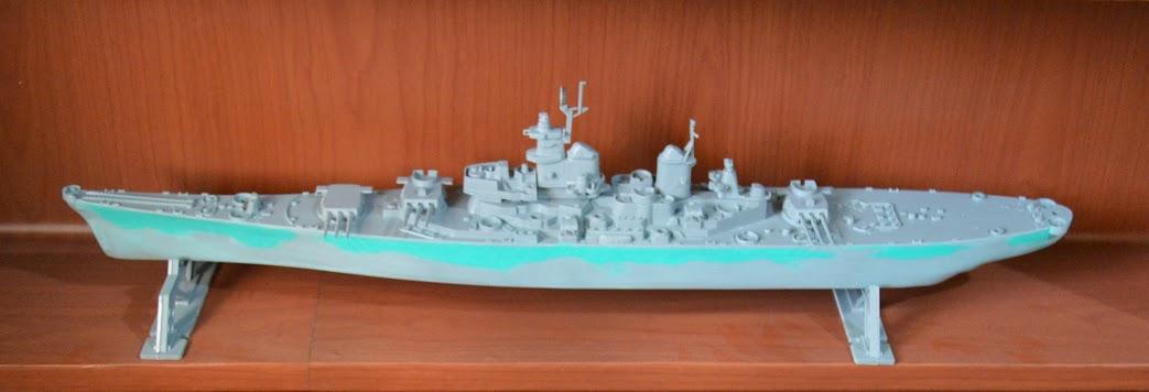 Missouri 1:535 Revell Model Kit U.S.S
