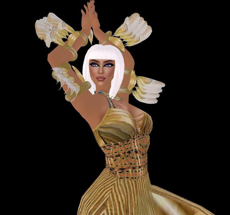 Blond Goddess, Egyptian Magic