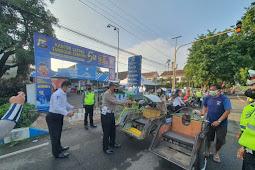 Satlantas Polres Pasuruan Kota Kembali Menggelar Bhaksos