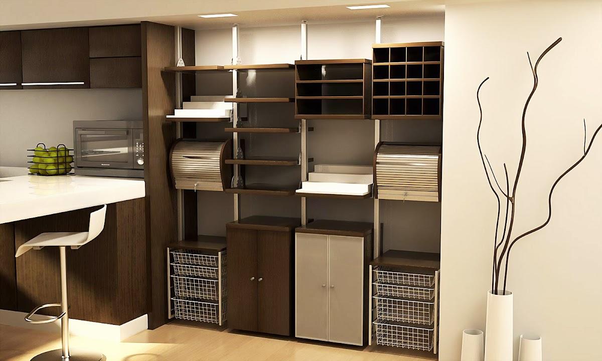 Alacenas modulares para cocina closets orbis for Alacenas de cocina