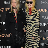 OIC - ENTSIMAGES.COM - Lee Starkey and Pam Hogg attends  McQueen - press night at Theatre Royal Haymarket on the 27th August 2015. Photo Mobis Photos/OIC 0203 174 1069