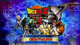 SAIU!! Dbz Tenkaichi tag team STYLE BUDOKAI TENKAICHI 3 (MOD) ANDROID (PPSSPP)