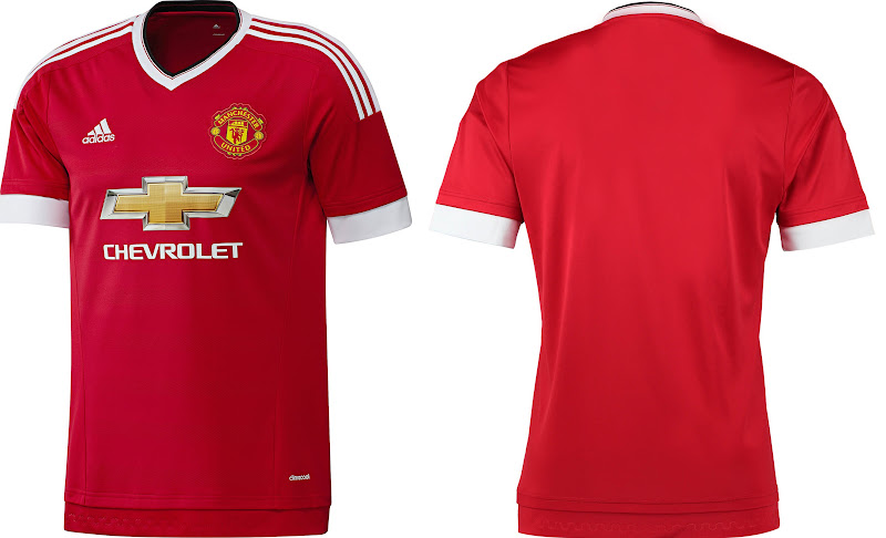 New Adidas Manchester United 2015 16 Kits Officially Released