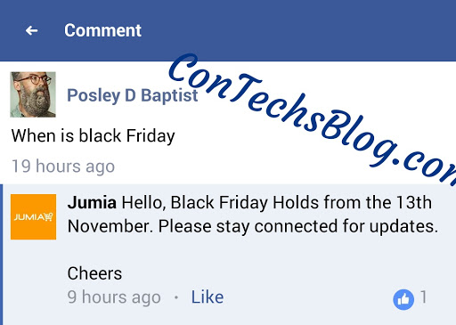 date for jumia black friday