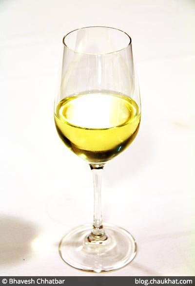 White Wine at Dezio, Kalyani Nagar, Pune