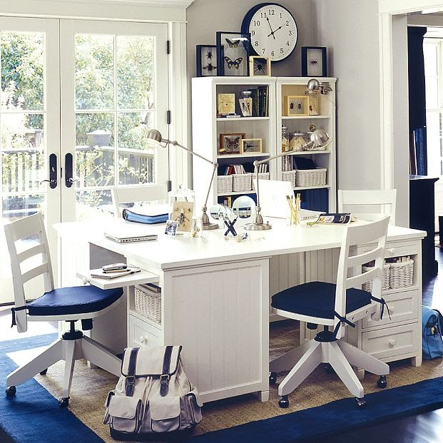 Home Office Space Ideas: Kids Study Room Furniture Designs