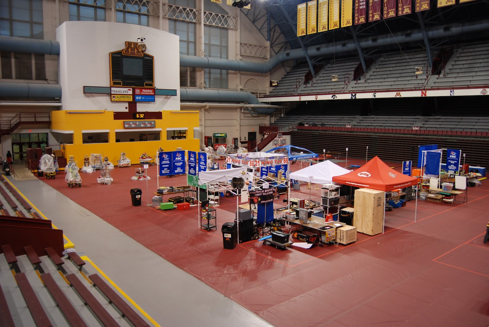 Photos from the first-ever Minnesota State High School League FIRST Robotics State Championship.