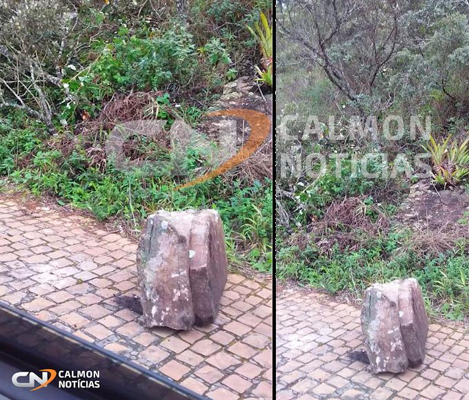 """Miguel Calmon: Pedras se soltam na serra da Macaúbas e moradores questionam """"o que estaria acontecendo""""?"""