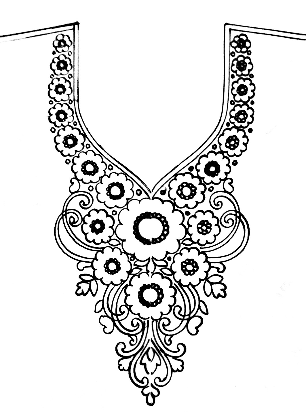 kurti neck designs latest 2019/2020 image || latest kurti neck desig || free download front neck design for kurti.