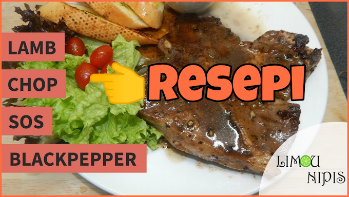 Resepi Lamb Chop SOS Blackpepper