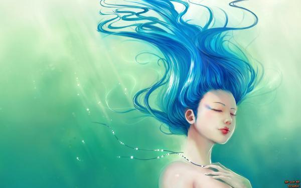 Underwater Undine, Undines