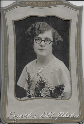 1930s gal with glasses Floodwood ant