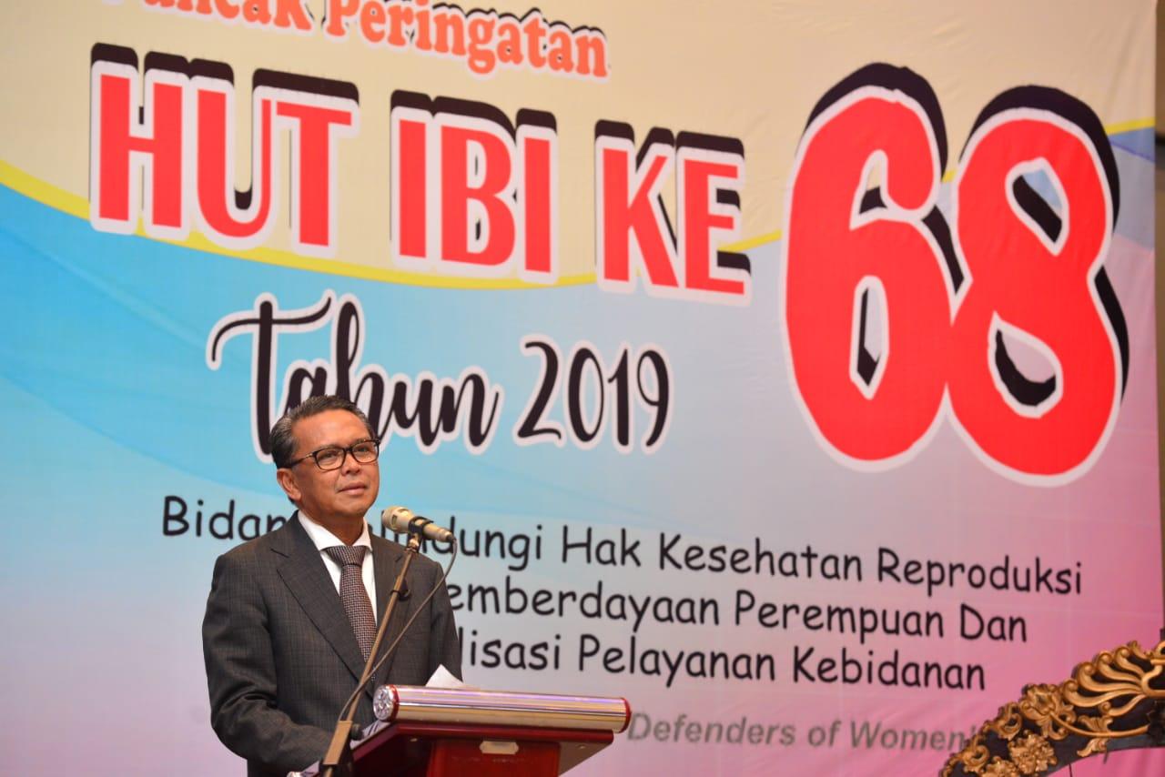 Hut IBI Ke 68 Dihadiri Gubernur Sulsel Nurdin Abdullah