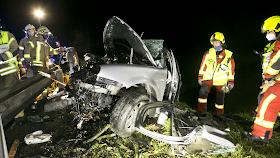 حادث سيارة أليم غرب النمسا يودي بحياة السائق