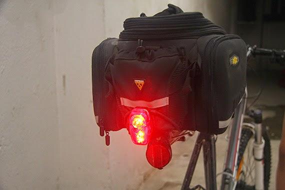 Highlaser, una potente luz roja trasera para tu bici o tu mochila