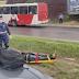 Acidente violento deixa vítima presa em ferragens em Manaus
