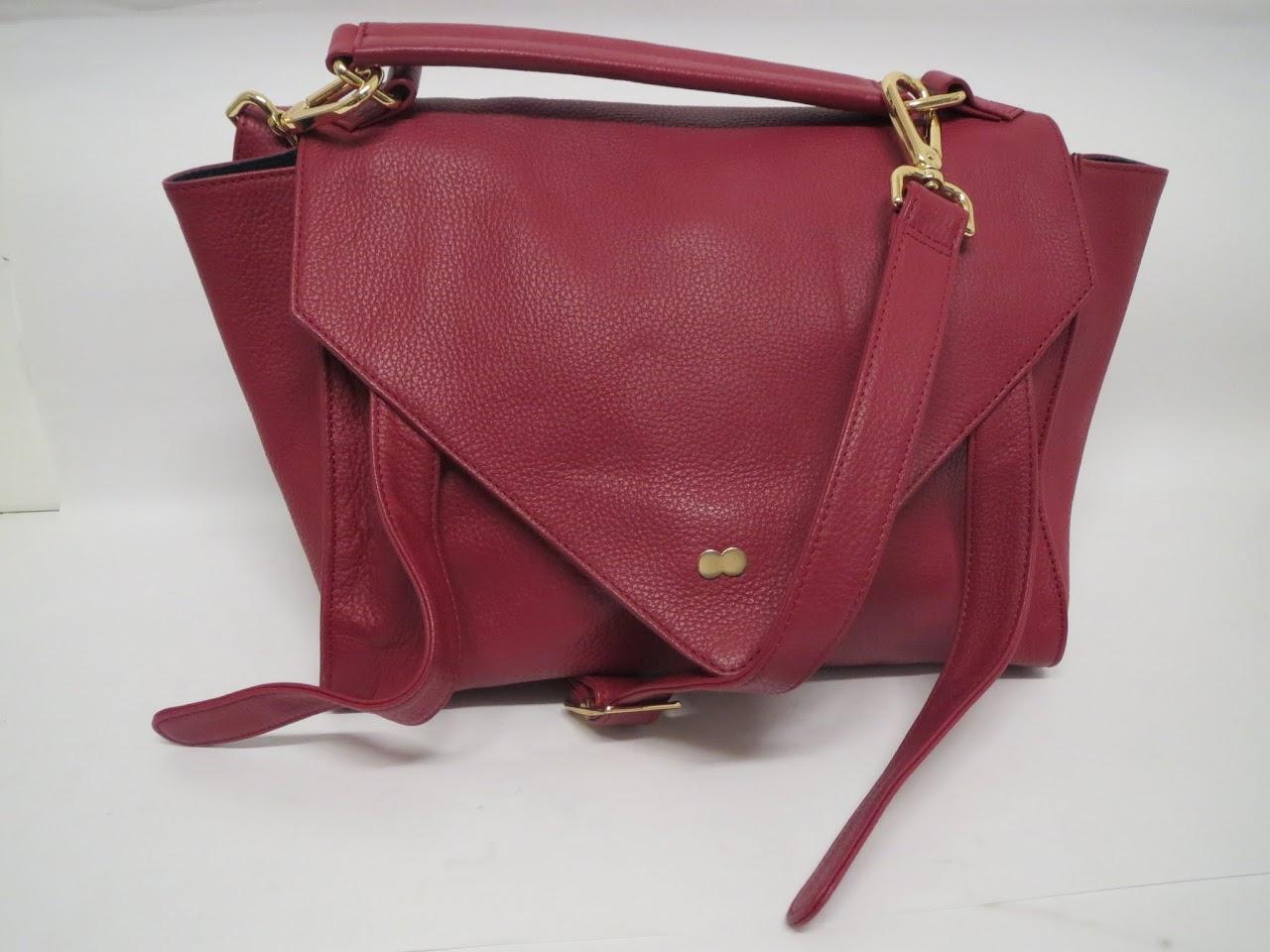 Project Oona Burgundy Shoulder Bag