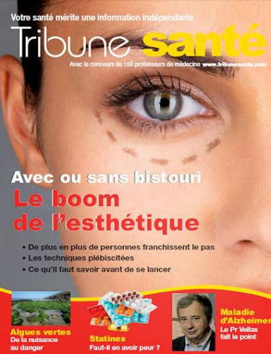 Tribune santé N°99 : liposuccion ou liposculpture par le docteur Sylvie POIGNONEC